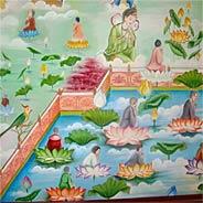 Công Phu Niệm Phật Nông Cạn Nhờ Trợ Niệm Thấy Ao Báu Vãng Sanh