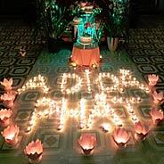 Lâm Chung Thấy Phật Trùm Y Lên Thân Ngồi Đài Sen Vãng Sanh Thượng Phẩm